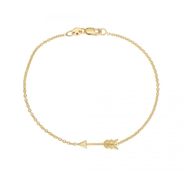 18K Arrow Bracelet