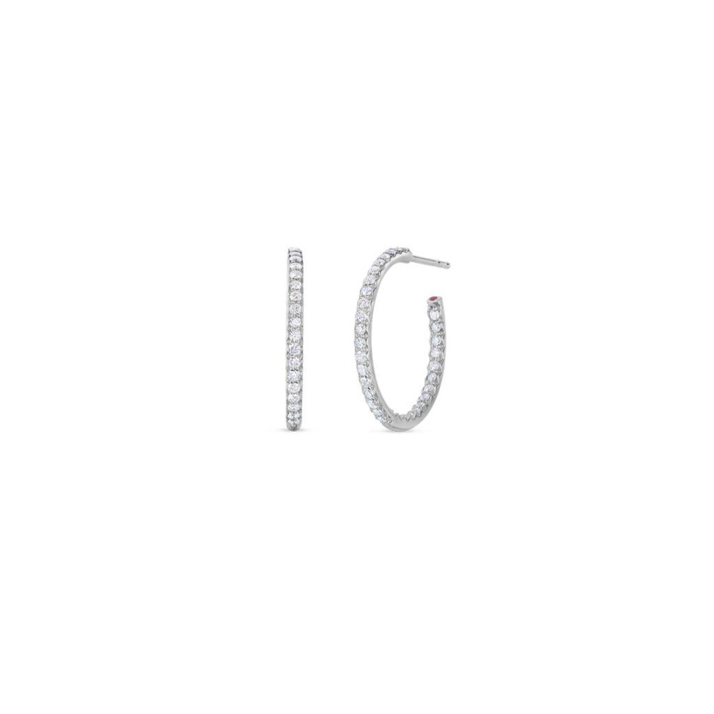 Small Inside Outside Diamond Hoop Earrings 000604AWERX0