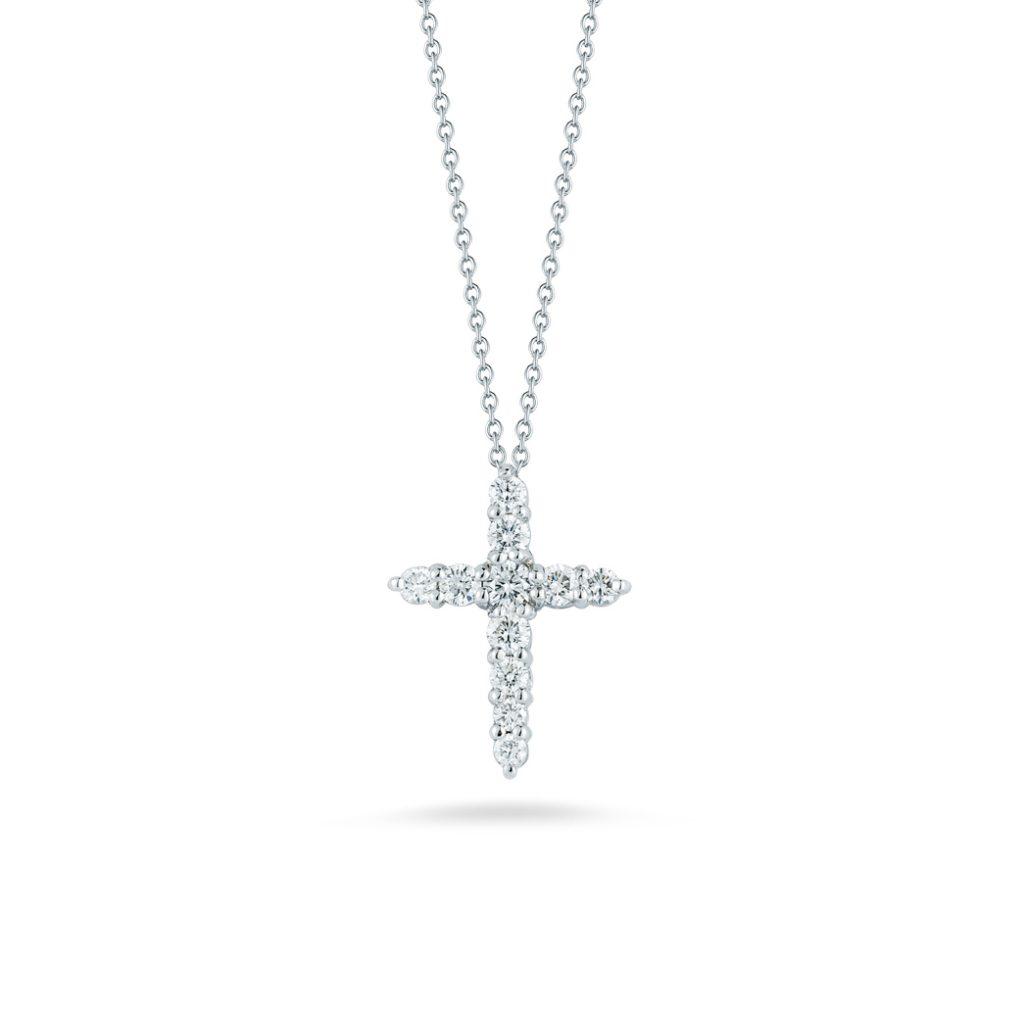Cross Pendant with Diamonds 001857AWCHX0
