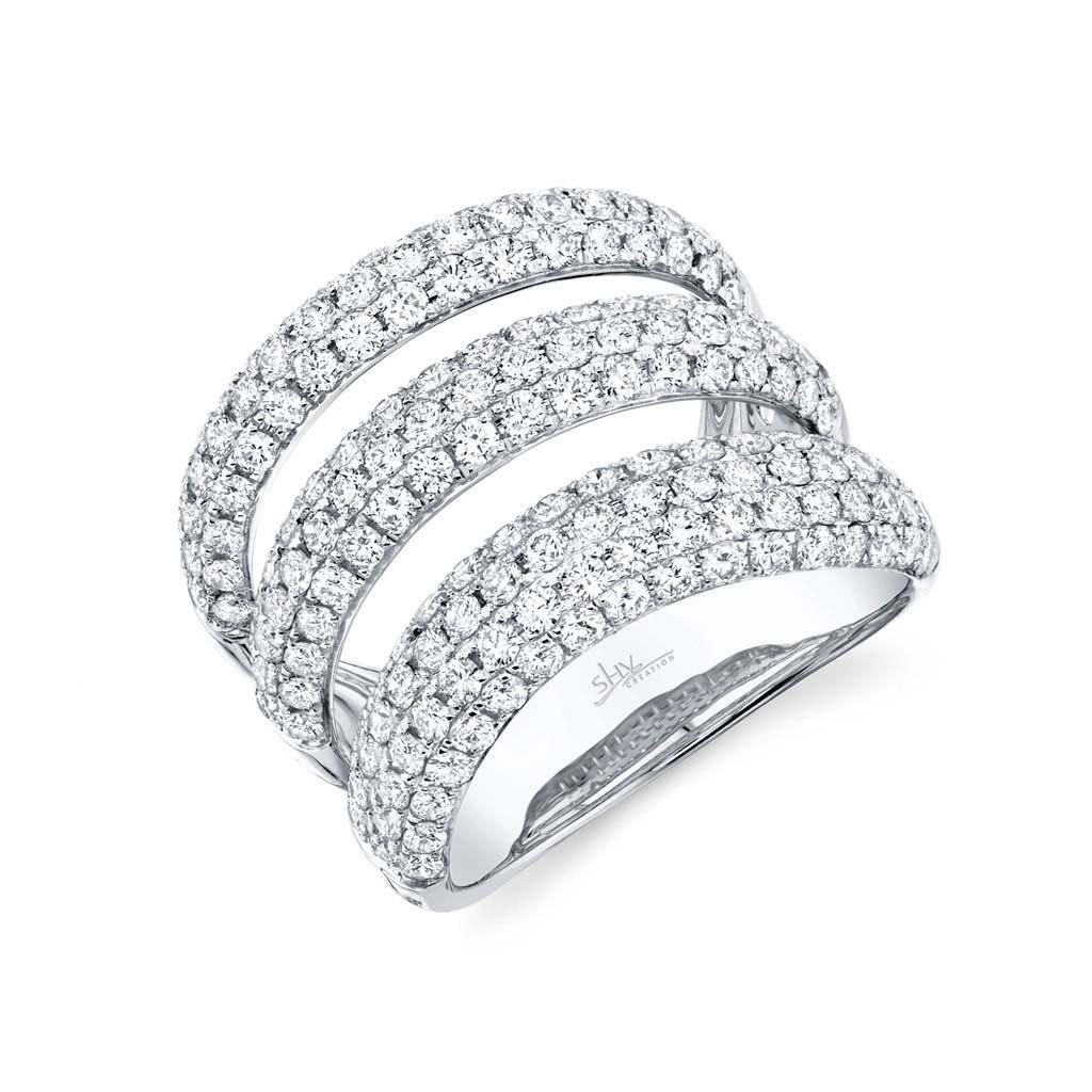 Diamond Pave Ladys Ring