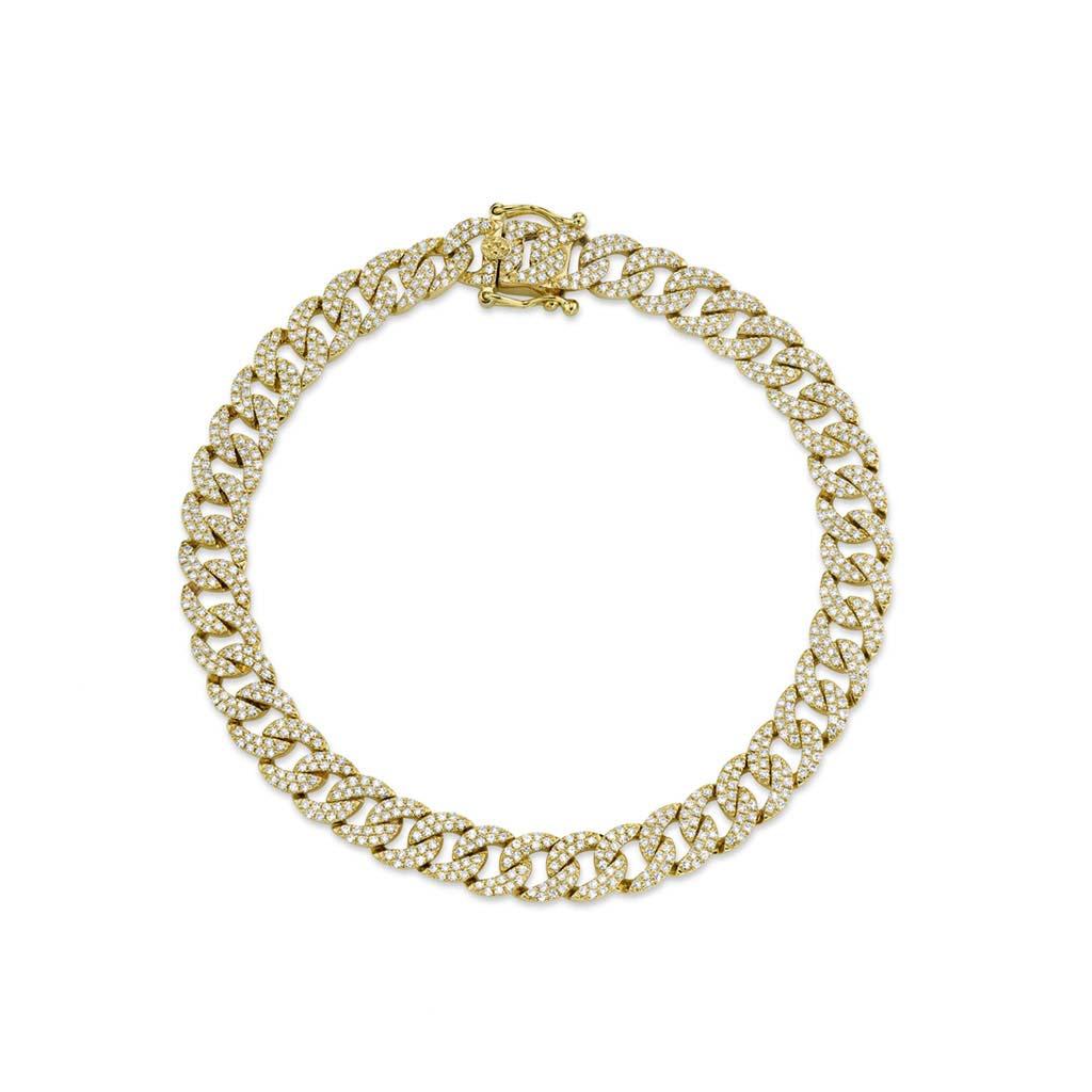 Diamond Pave Chain Bracelet