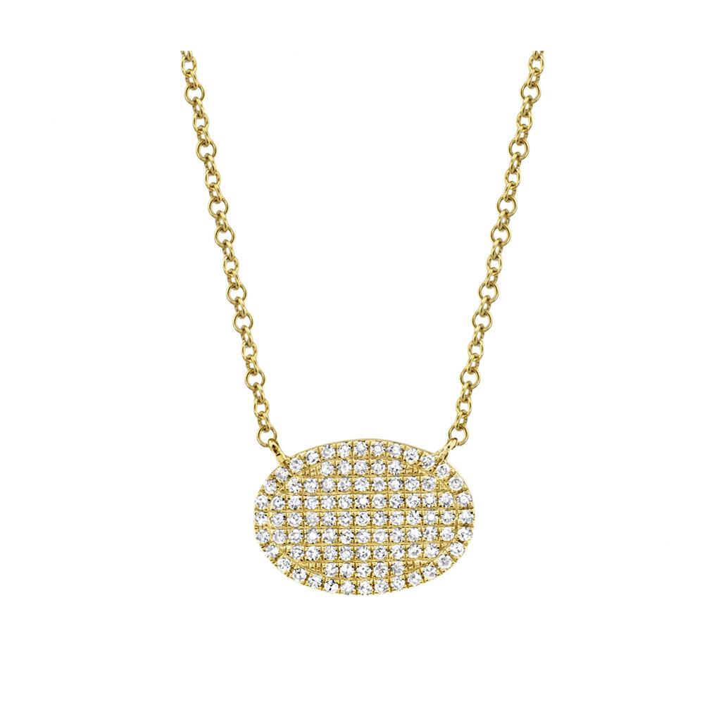 Diamond Pave Necklace