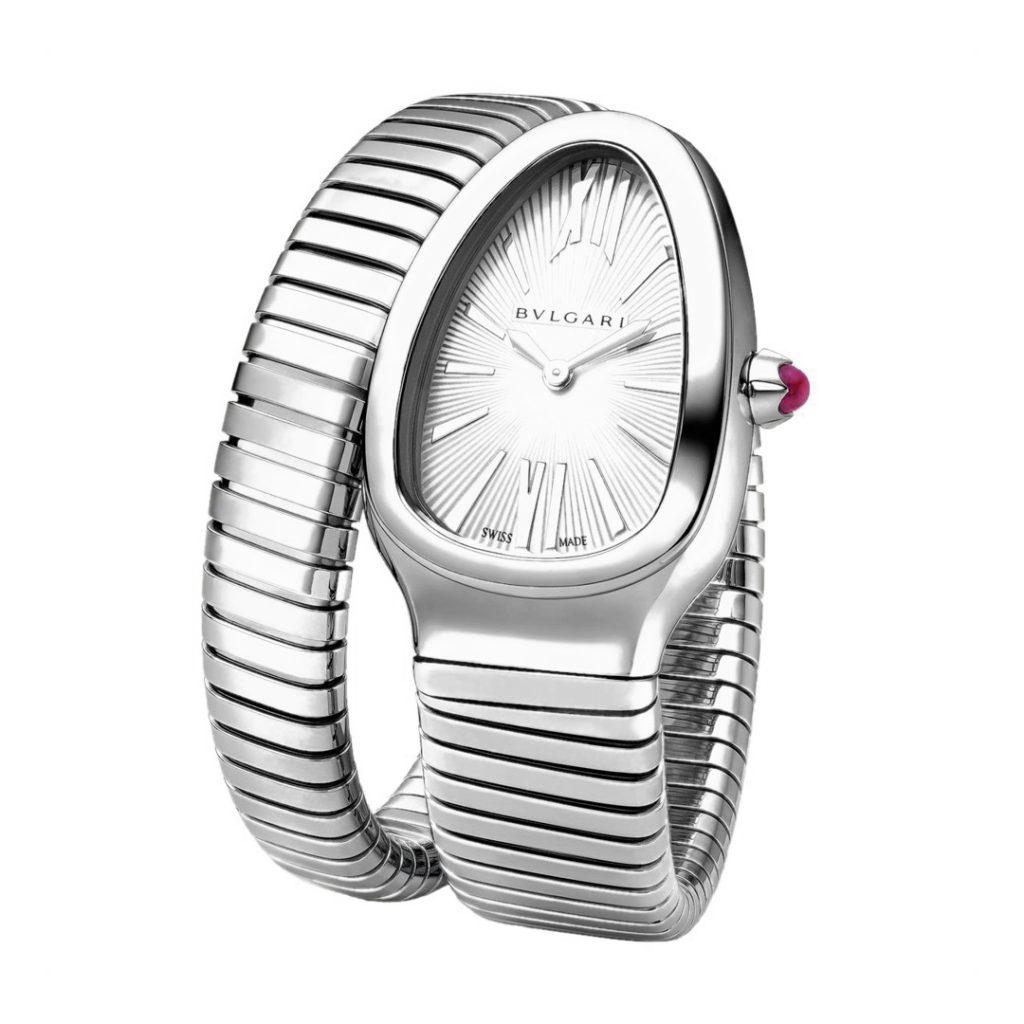 Serpenti Tubogas Single Spiral Watch 101817 SP35C6SS.1T