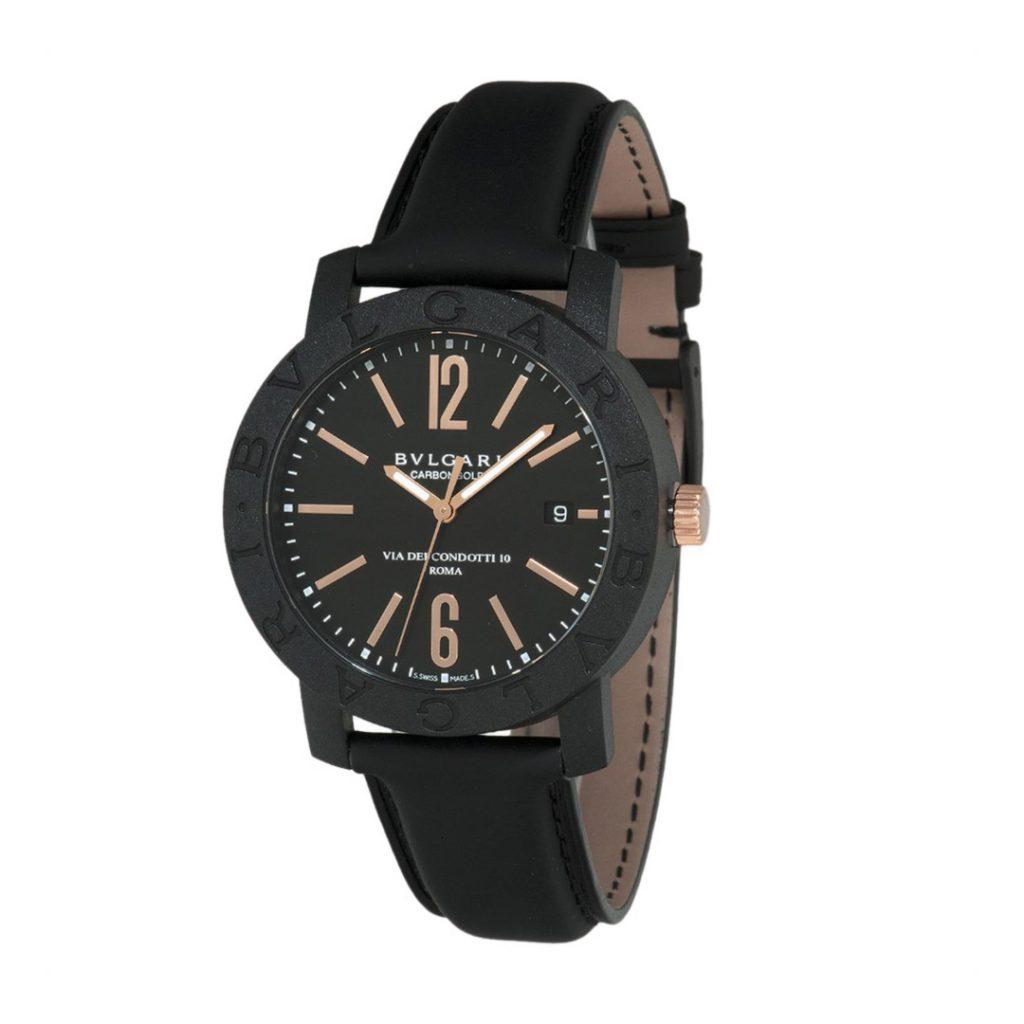 Bvlgari Bvlgari Carbon Gold Watch 102248 BBP40BCGLD