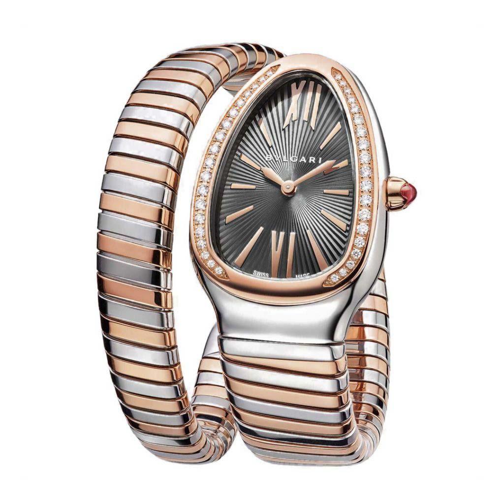 Serpenti Tubogas Single Spiral Watch 102681 SP35C14SPGD.1T
