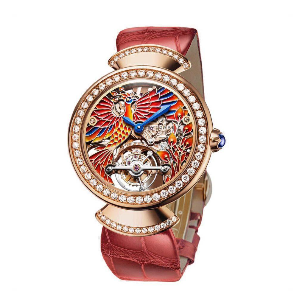 Divina Tourbillon Phoenix Limited Edition Watch 102947 DVP37PHGDLTBSK