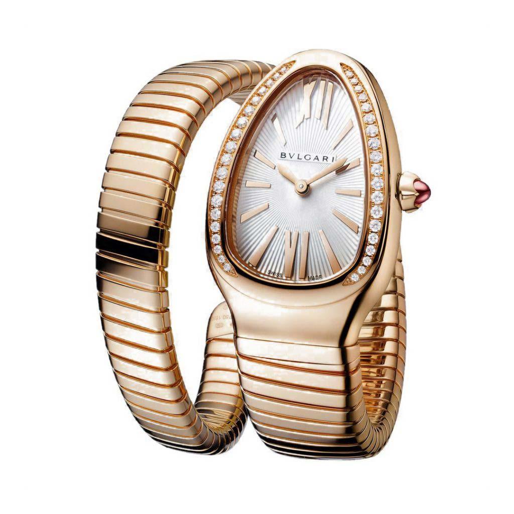 Serpenti Tubogas Single Spiral Watch 103003 SPP35C14GDG.1T