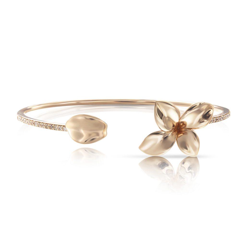 Giardini Segreti Petite Champagne Diamond Bracelet