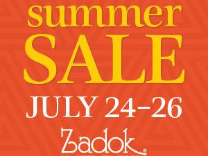 Zadok Jewelers Summer Sale