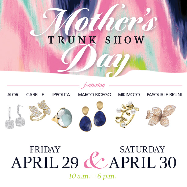 Zadok mother's day trunk show