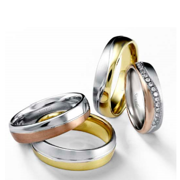 same sex wedding bands simon g jewelry debuts new ring collection - Same Sex Wedding Rings