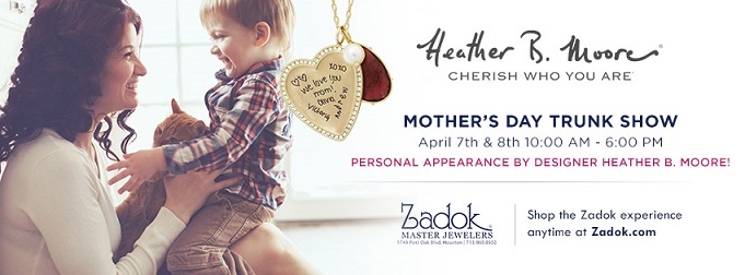 Heather B Moore Jewelry at Mothers Day Trunk Show