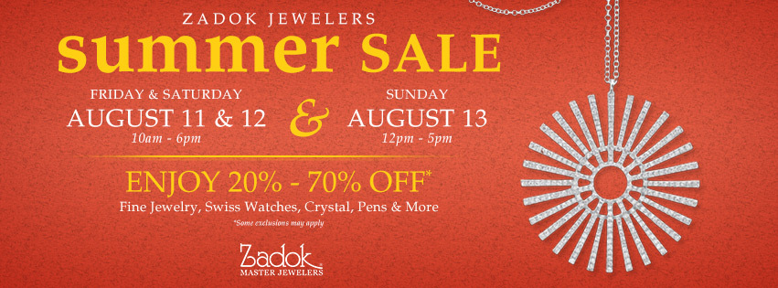 Summer Fine Jewelry Sale 2017