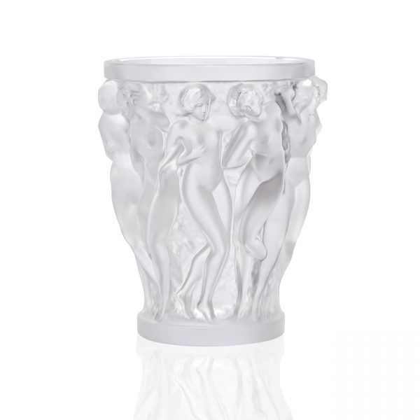 Bacchantes Vase, Clear, Small
