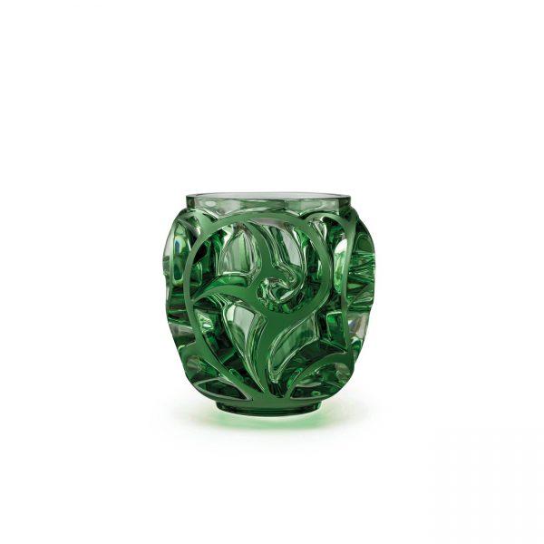 Tourbillons Vase, Brilliant Green, Small