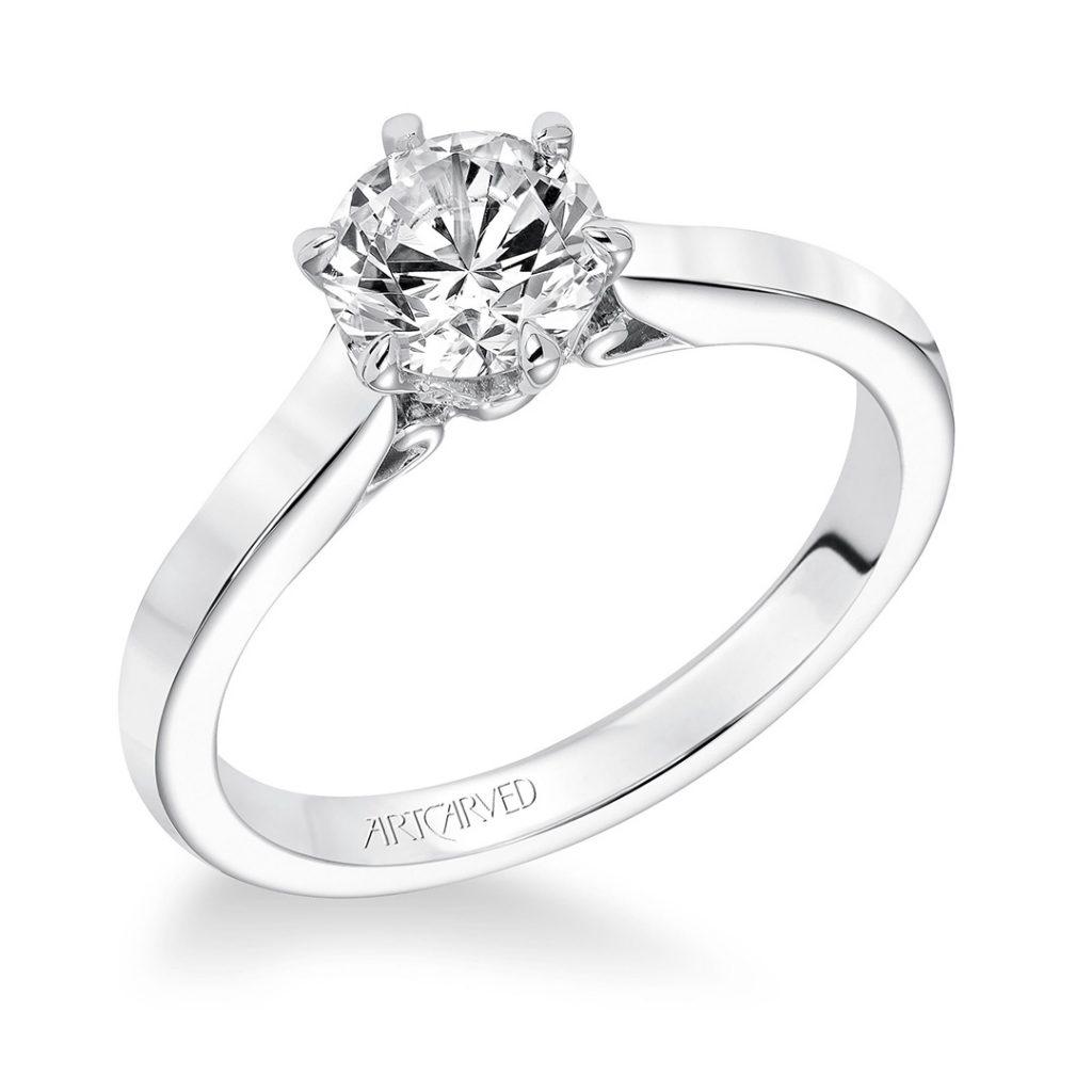 Chivon Classic Diamond Engagement Ring