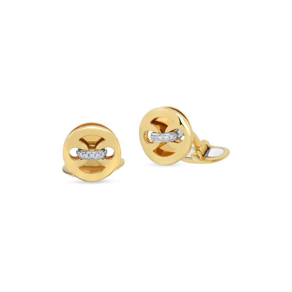 Marina Cufflinks with Diamonds 449127AJCFX0