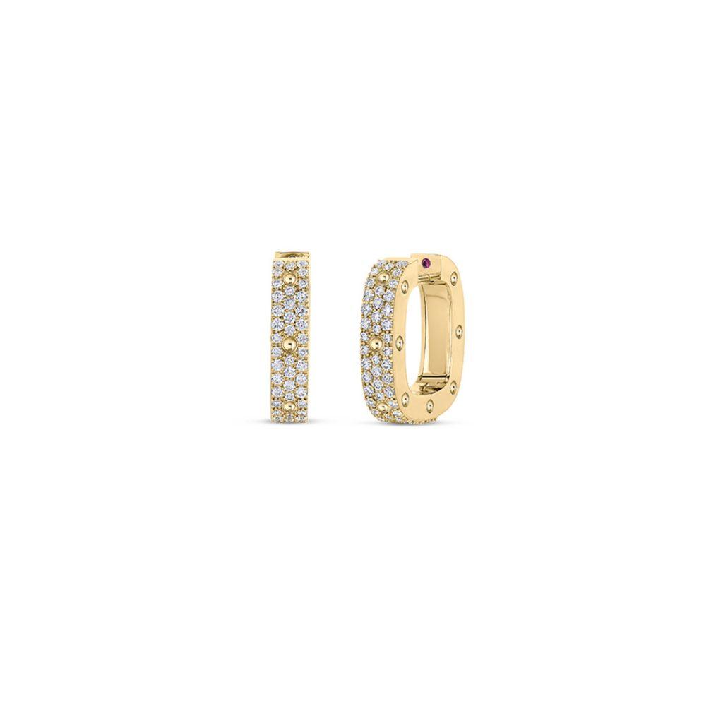 Gold Earrings with Diamonds 888703AYERX0
