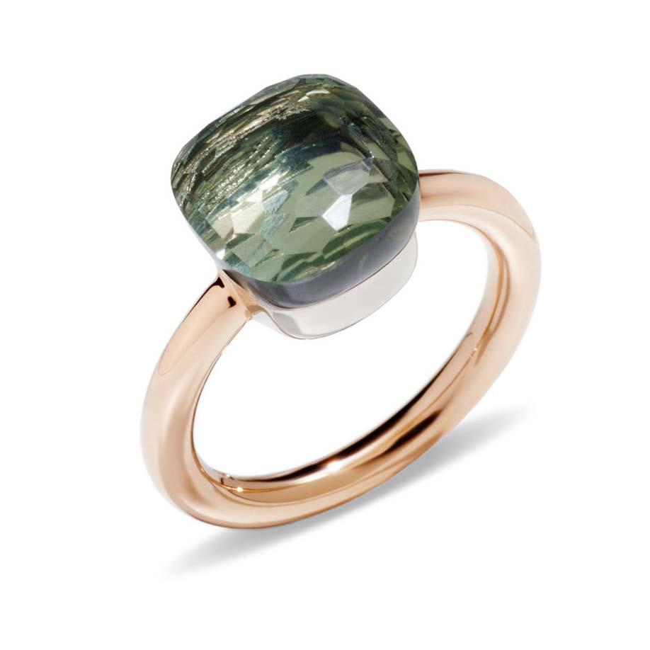 Nudo Prasiolite Ring A.A110/O6/PA