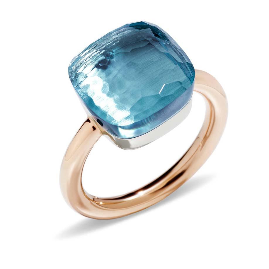 Nudo Maxi Blue Topaz Ring A.B201/O6/OY