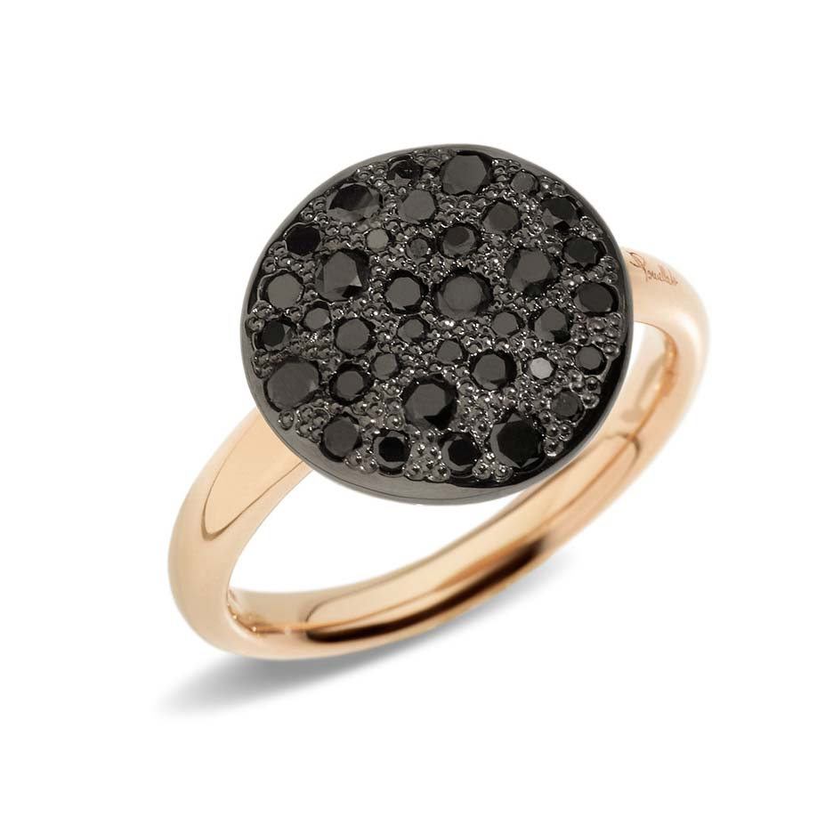 Sabbia Black Diamond Ring A.B204/O7/BB