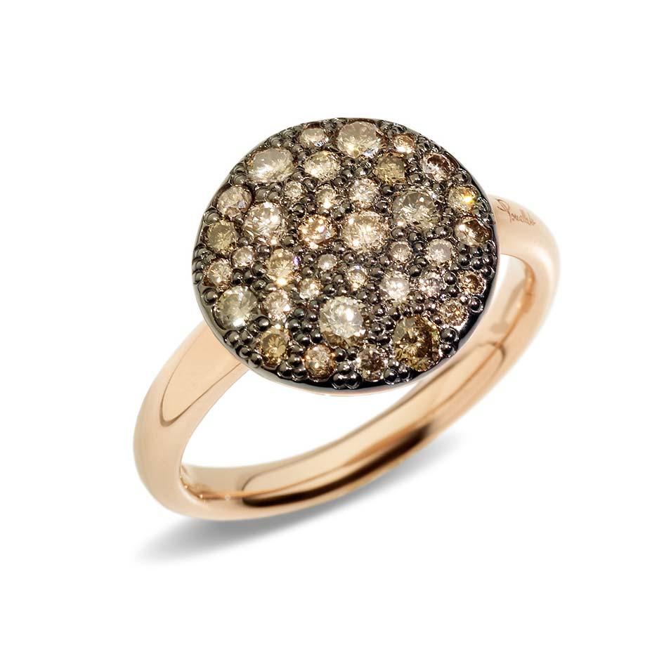 Sabbia Champagne Diamond Ring A.B204/O7/BR