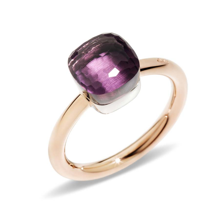Nudo Petite Amethyst Ring A.B403/O6/OI