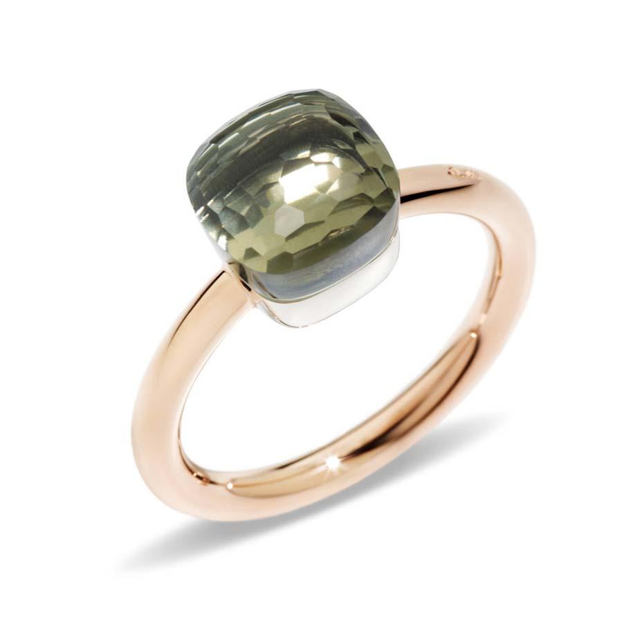 Nudo Petite Prasiolite Ring A.B403/O6/PA