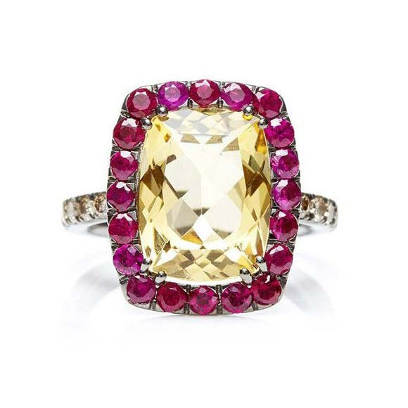 Dynamite Cocktail Ring with Citrine A1301NC2Y