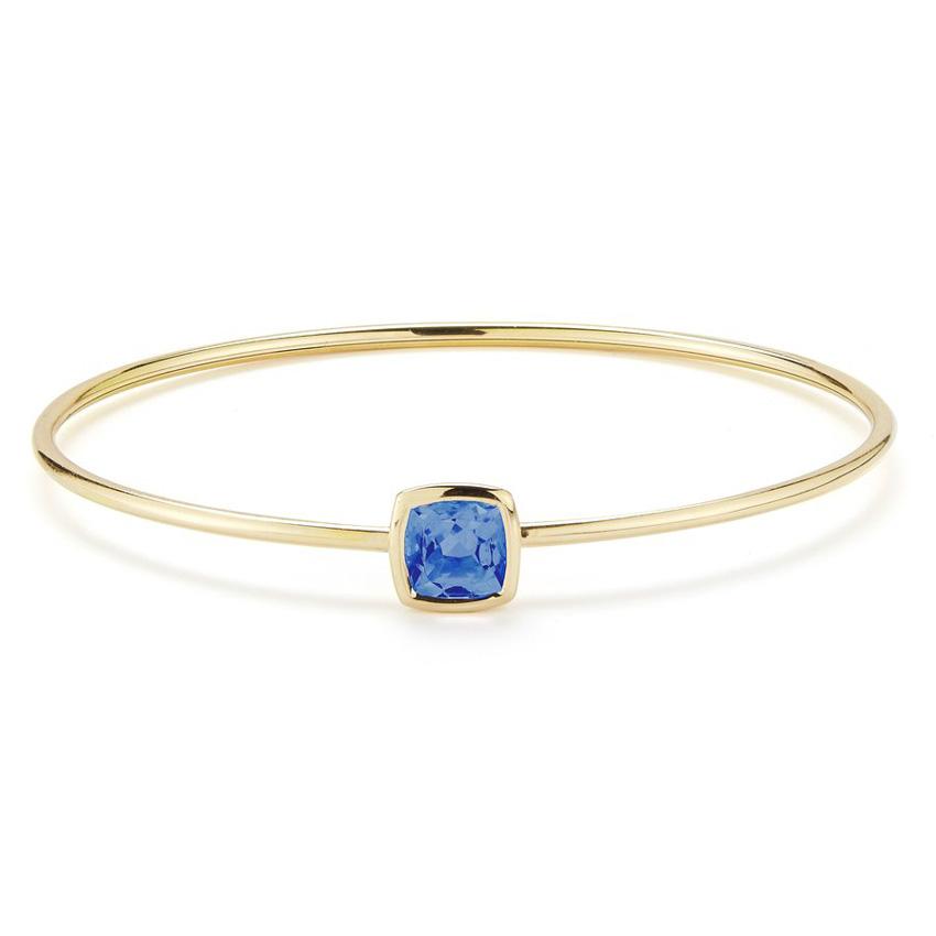 Gaia Bangle Bracelet with London Blue Topaz B1701GUL