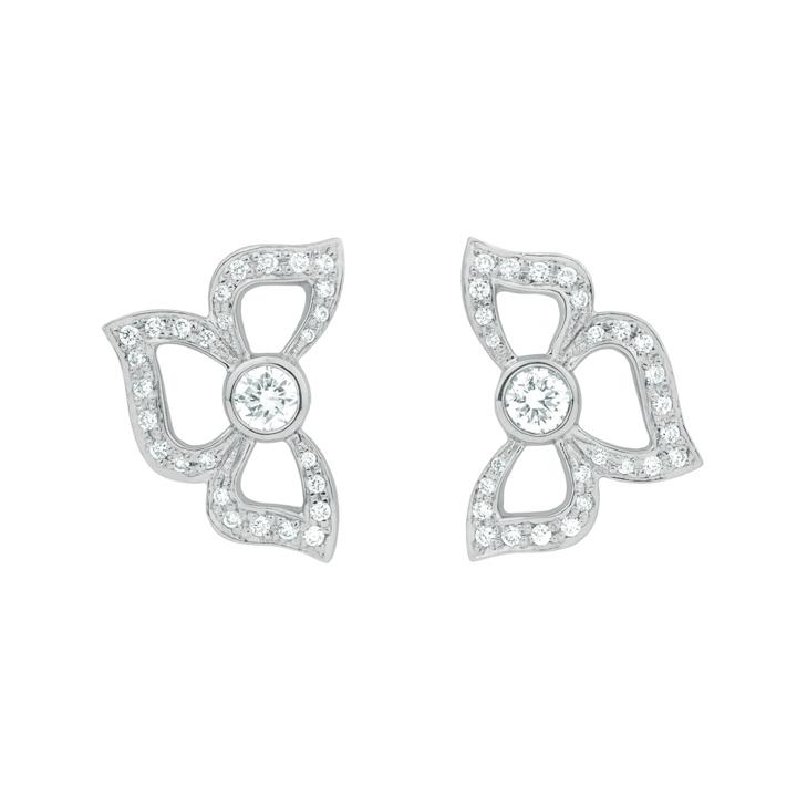 Florette Pave Diamond Stud Earrings BD836W8D