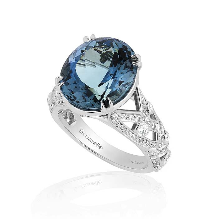 Aquamarine Bespoke Ring BG704W8AQD
