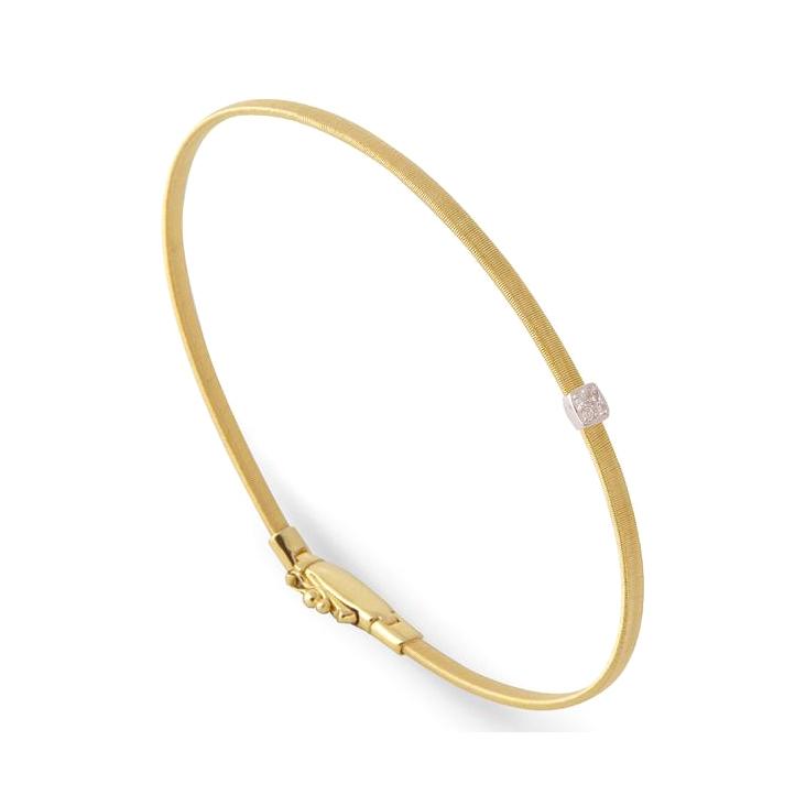 Single Station Diamond Bracelet BG731-B-YW