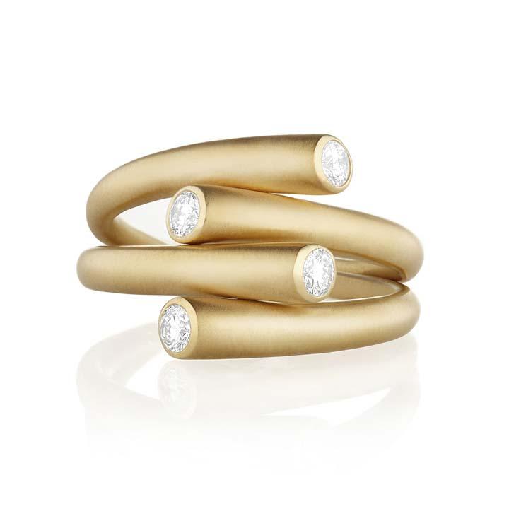 Whirl Duo Diamond Ring BG817Y8D