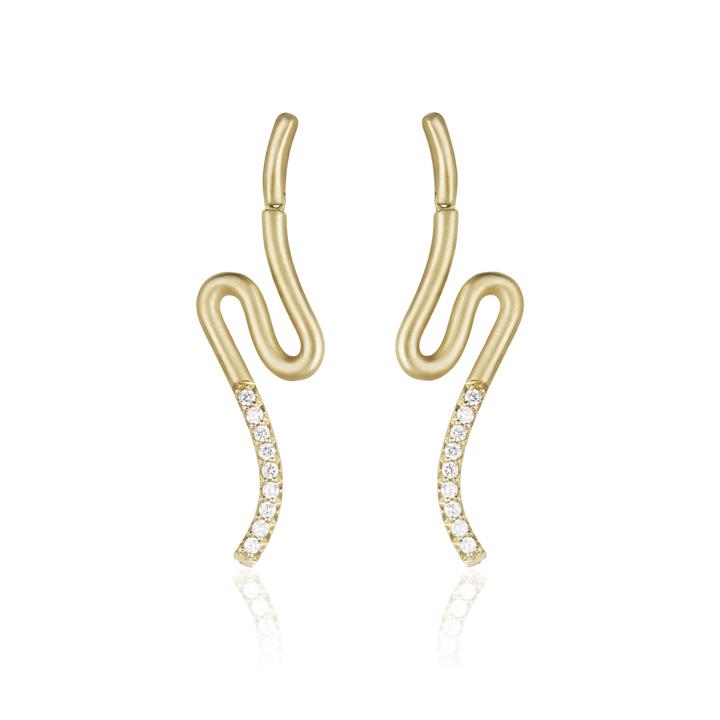 Brushstroke N° 51 Earrings CB935Y8D