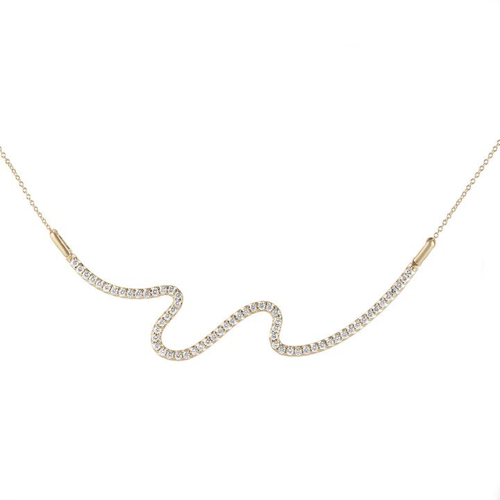 Brushstroke N° 62 Necklace CB981Y8D