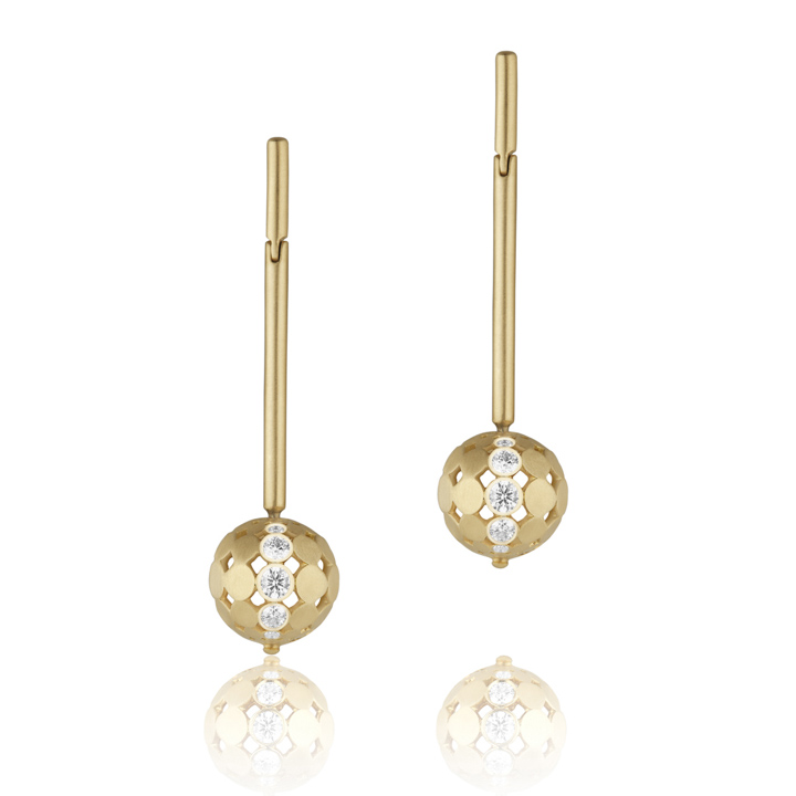 Disco Dots Stick Earrings CD234Y8D