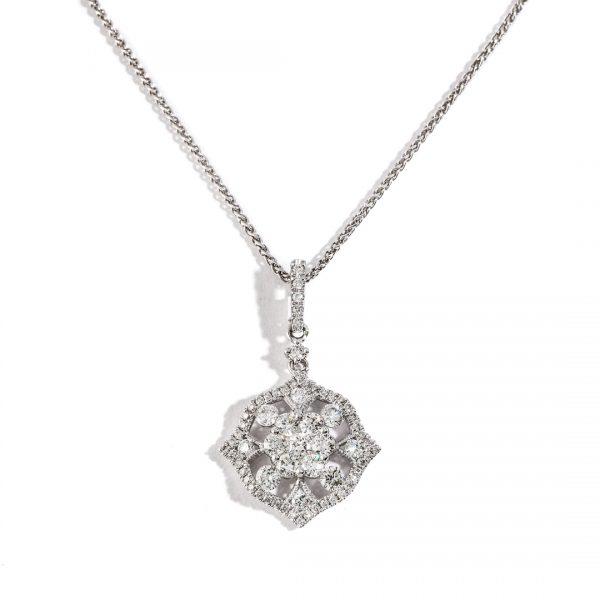 Bizantine Diamond Pendant