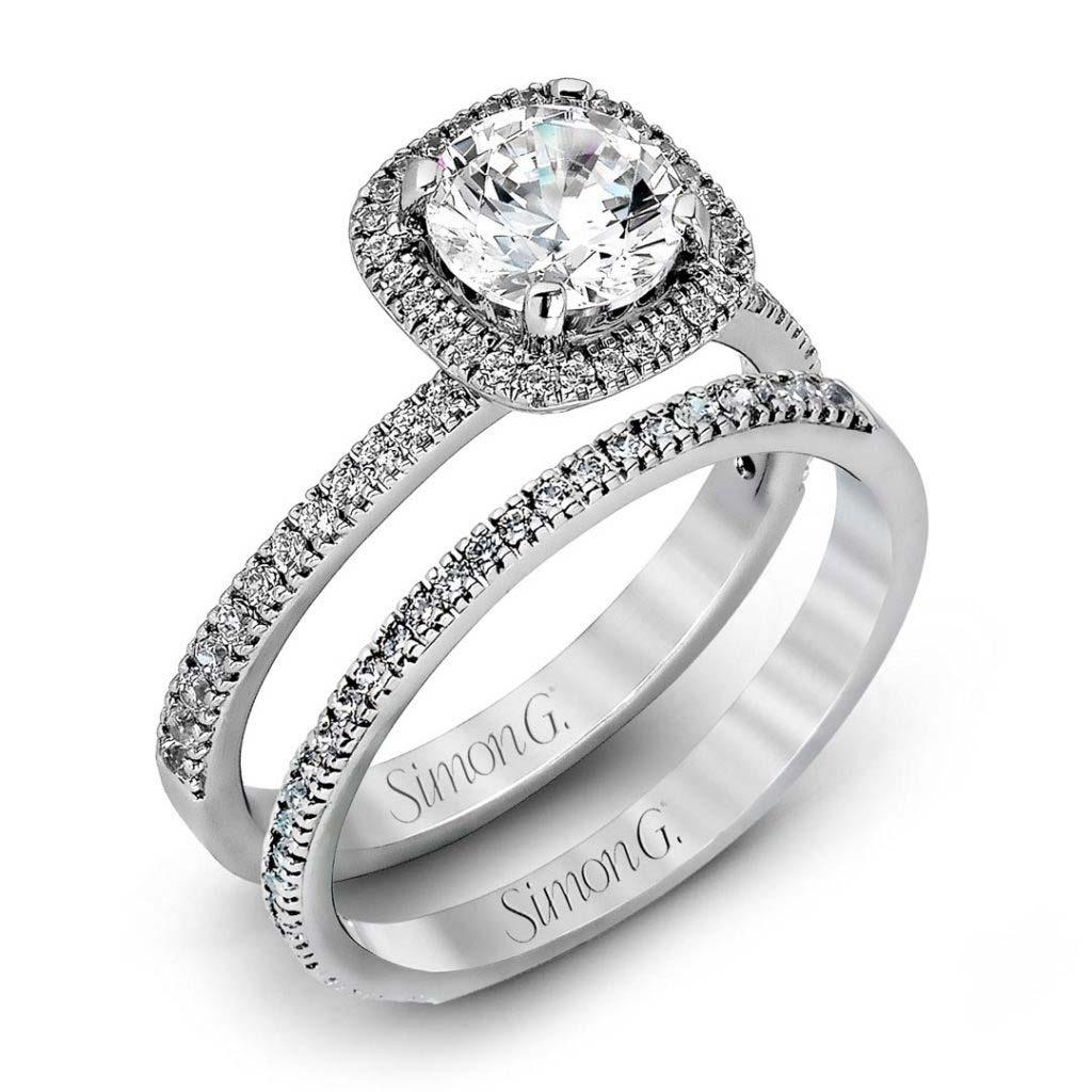 Passion MR1842-A Diamond Solitaire Wedding Set MR1842-A