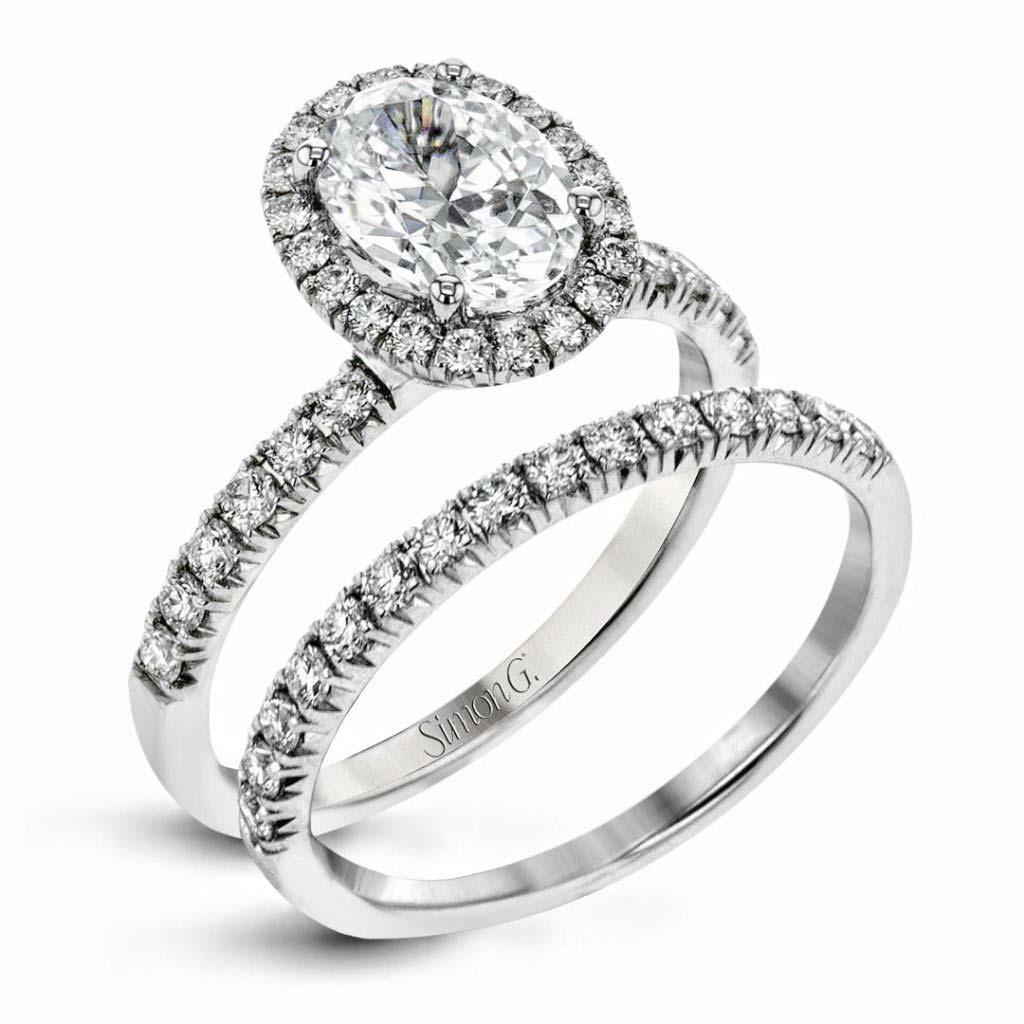 Passion MR2905 Diamond Solitaire Wedding Set MR2905