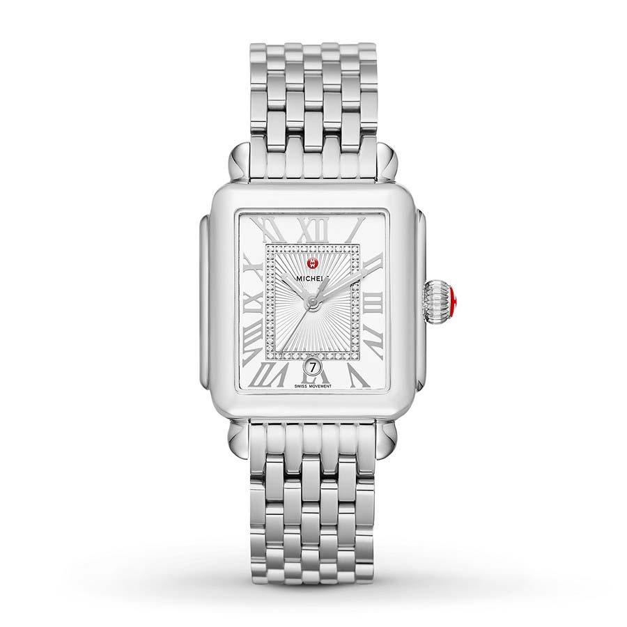 Deco Madison With Diamond Dial Watch MWW06T000141