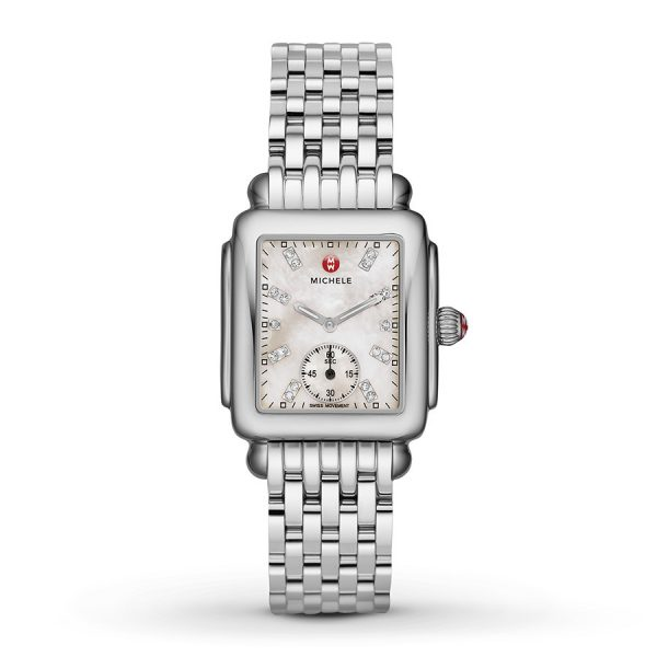 Deco Mid With Diamond Dial Watch MWW06V000002