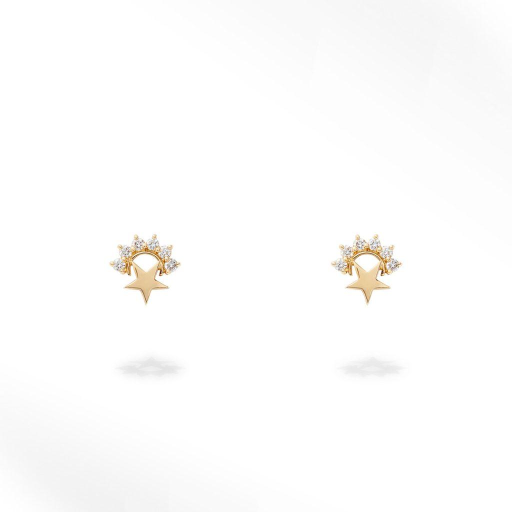 Star Studs Small (Pair) Earrings