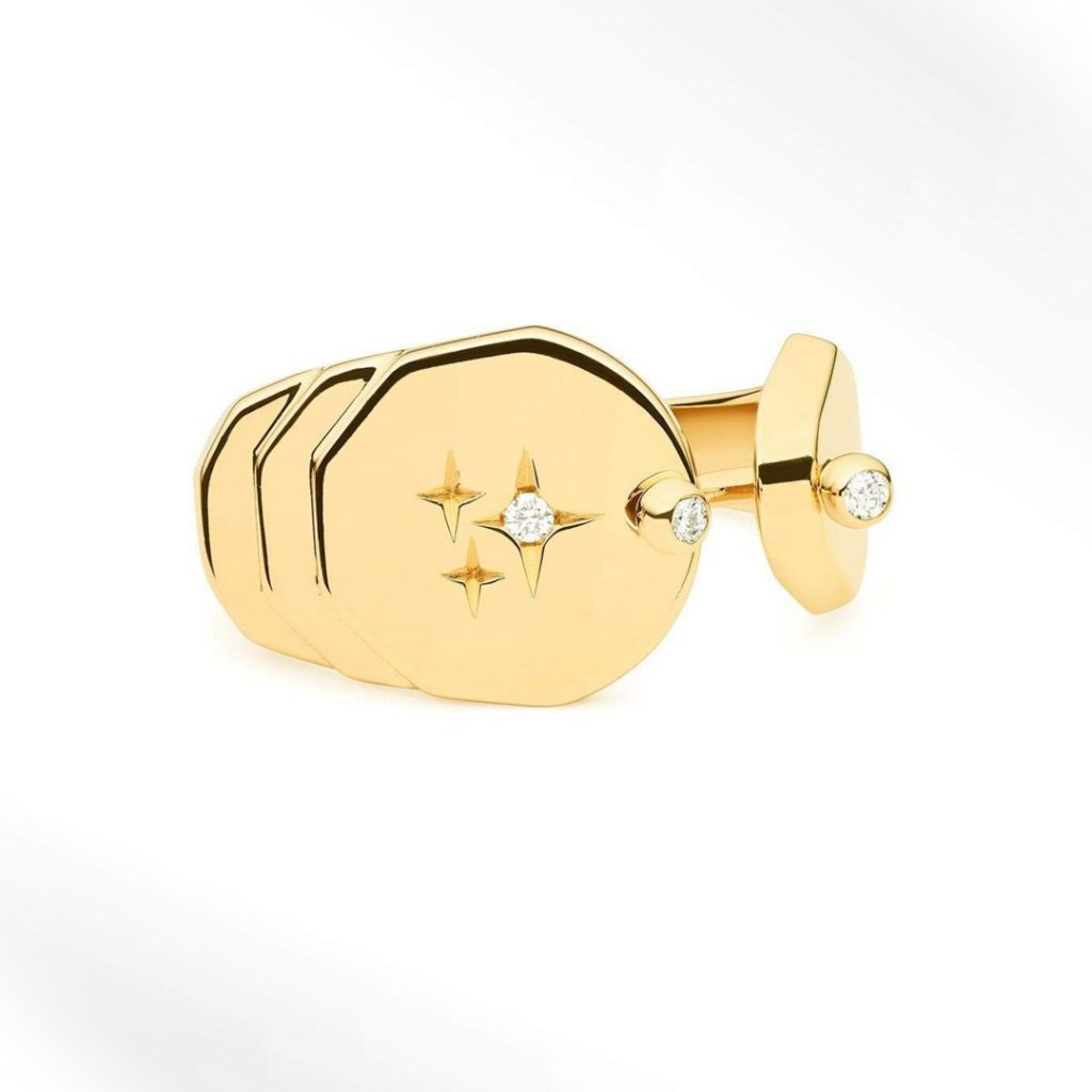 Sparkles Gold Ring Fashion Ring