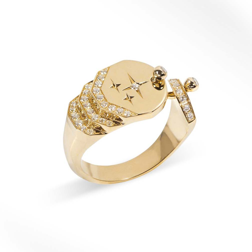 Sparkles Diamond Ring Fashion Ring