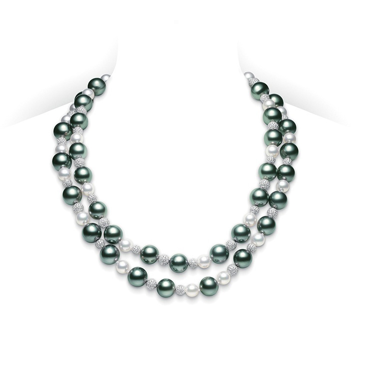 Classic Pearl Necklace UZ701BDW