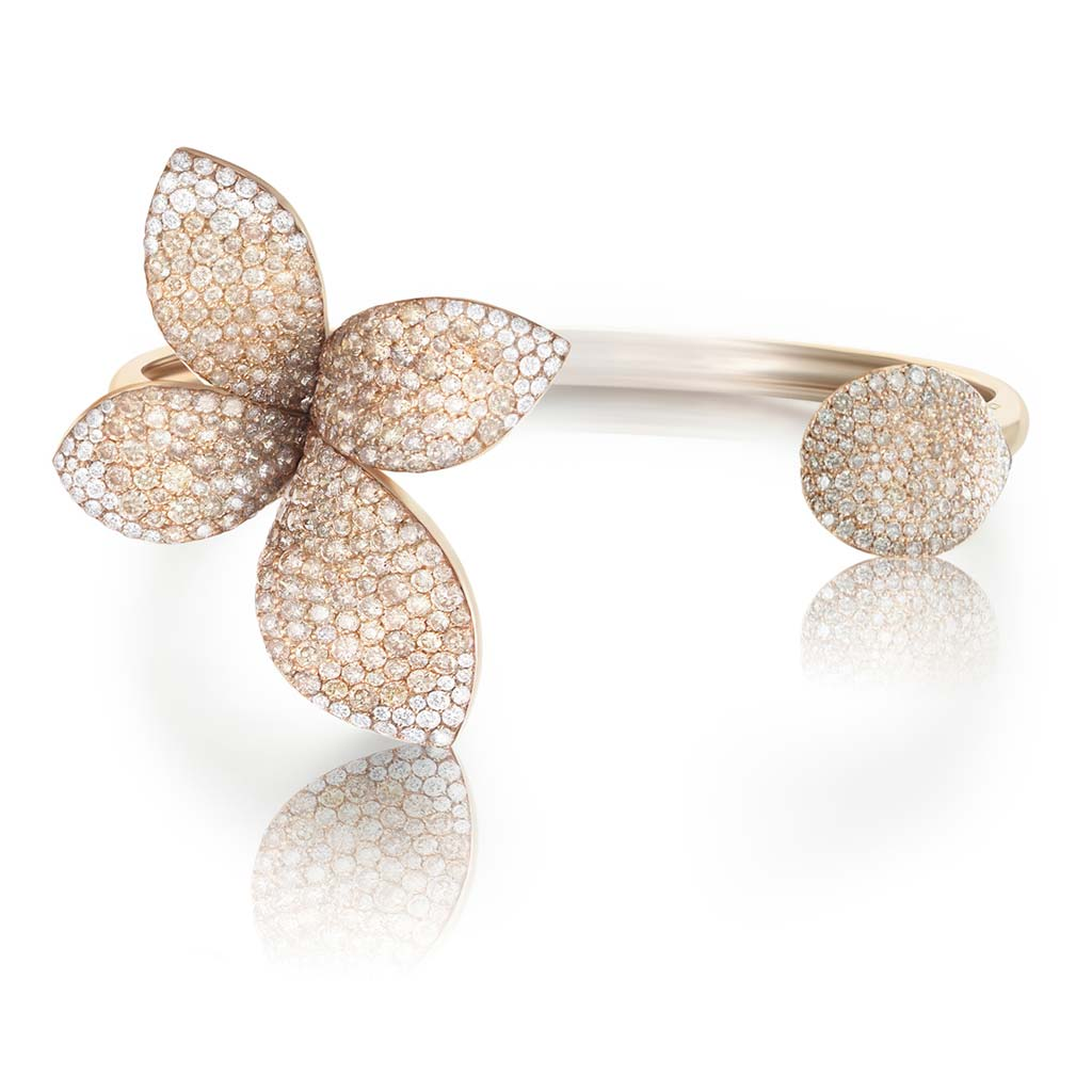 Pasquale Bruni 18k Rose Gold Diamond Fashion Ring 15257R