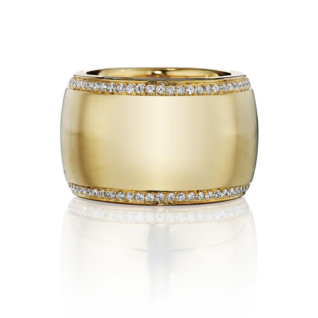 Zadok Collection 18k Yellow Gold Diamond Fashion Ring DLR7500468