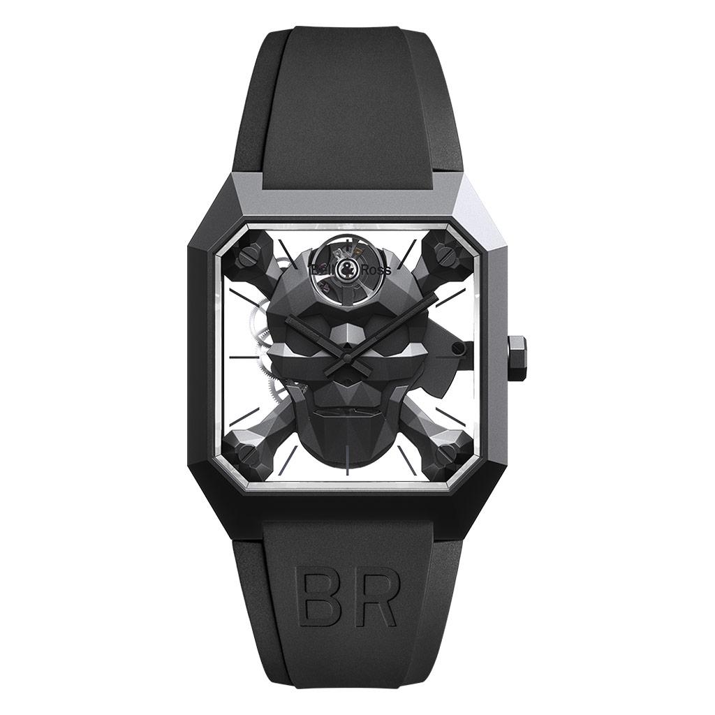 BR 01 Cyber Skull Watch