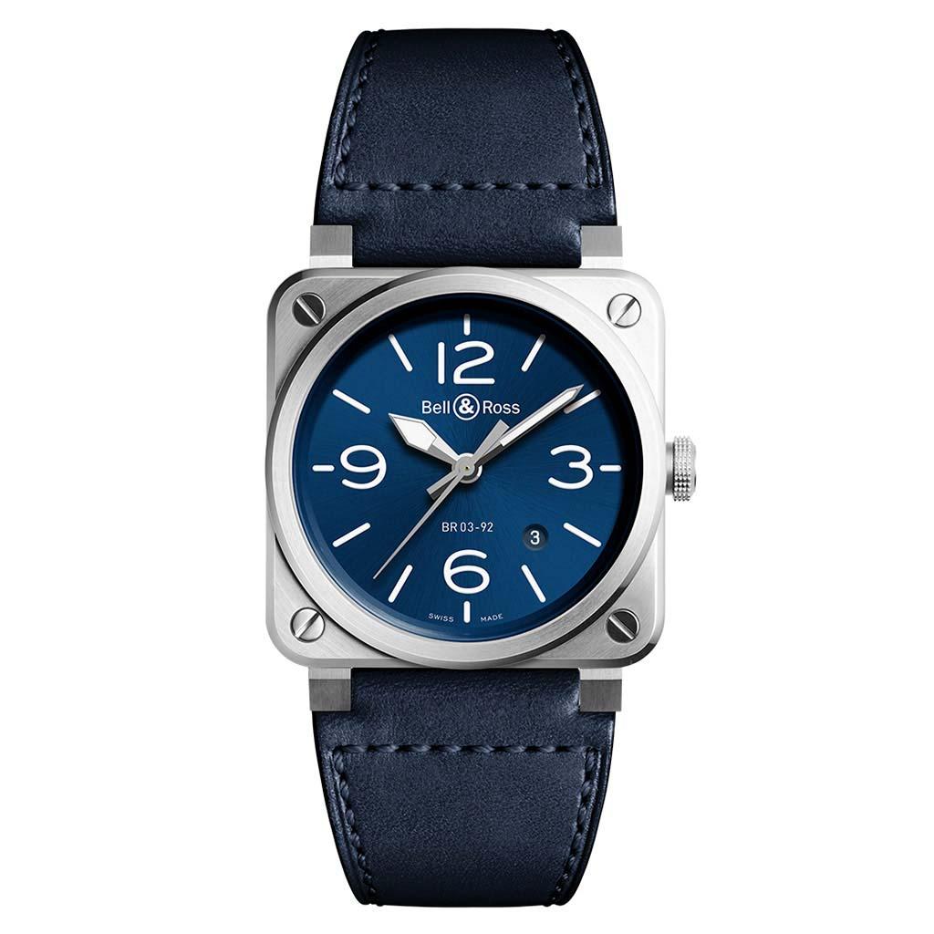 BR 03-92 BLUE STEEL Watch